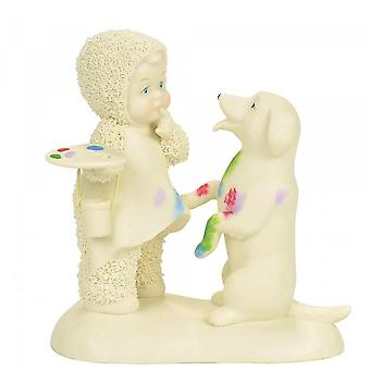 Snowbabies Artistic Endeavors Figurine