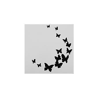 Stencil da borboleta da estrela do bolo