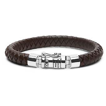 Buddha To Buddha 180BR F Ben Small Leather Brown Bracelet