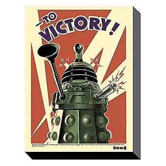Doctor who - victory 60cm x 80cm wall art canvas