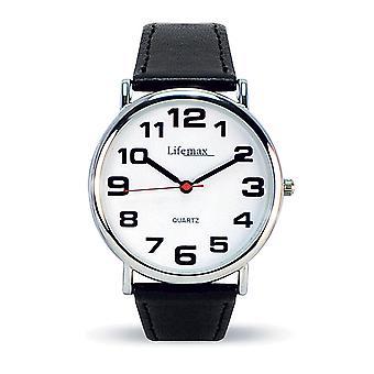 Herren Clear Time Classic Quarzuhr