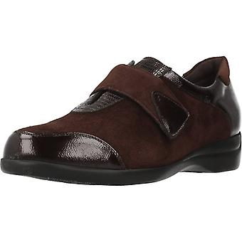 Piesanto schoenen comfort 195576 kleur mahonie
