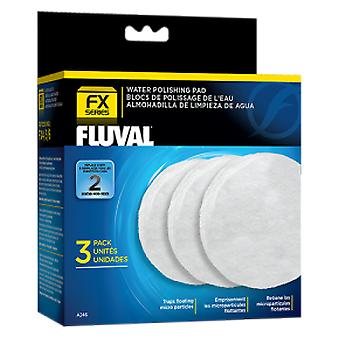 Fluval FLUVAL FOAM FX5 TEMPORAL 3 PC (Vissen , Filters en waterpompen , Filter materiaal)