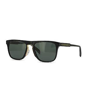 Alexander McQueen AM0078S 003 Black/Green Sunglasses