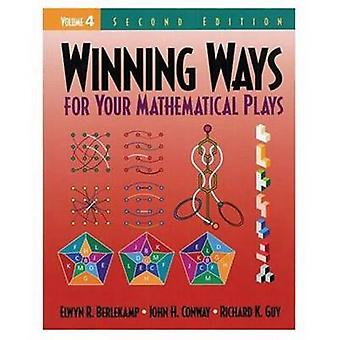 Winning Ways for Your Mathematical Plays Volume 4 by Berlekamp & Elwyn R.