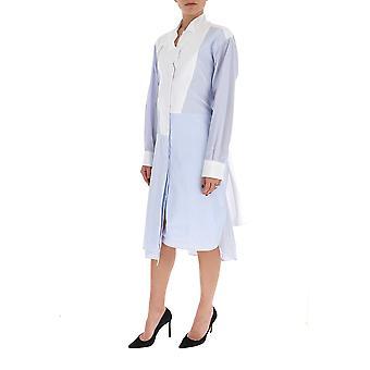 Loewe S2106292ga5102 Frauen's hellblaue Scotton Kleid