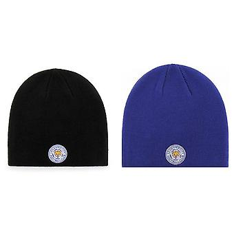 Leicester City FC Beanie Knitted Hat