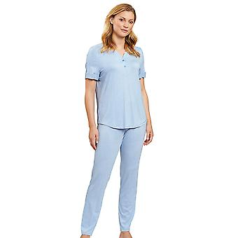 Rösch 1203027-10060 Damen's Smart Casual Jeans Blau Pyjama Set