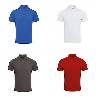 Premier Mens Coolchecker Plus Piqu Polo Shirt