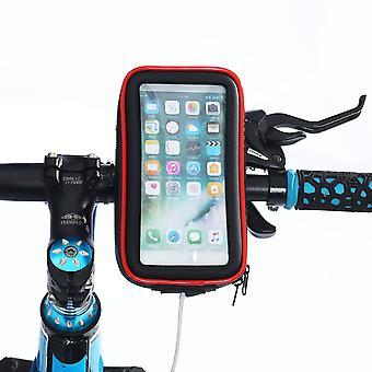 防水自転車バイクハンドルバー電話バッグ4.0-6.5インチスマートフォンiphone xs maxサムスンギャラクシーs10+