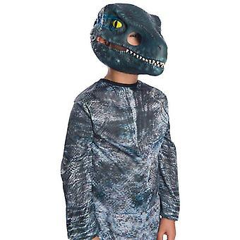 Rubie's Jurassic World: Gefallenes Königreich Velociraptor bewegliche Kiefer Kind Maske