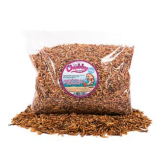Chubby dried river shrimp  (select your size)*