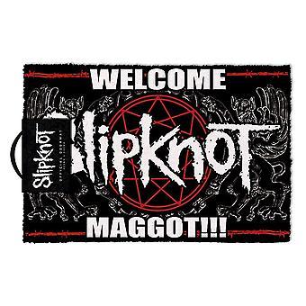 Slipknot Pentagram Velkommen Maggot Dørmatte