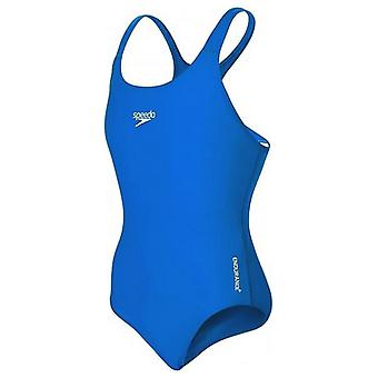 Swimsuit for Girls Speedo Endurance Medalist Blue/6-7 years (EU) - 24 (UK)