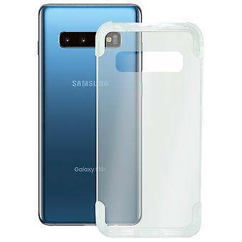 Copertura mobile Samsung Galaxy S10 KSIX Armatura Estrema Trasparente