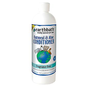 Earthbath Oatmeal & Aloe Conditioner Fragrance Free 472ml