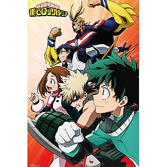 My Hero Academia Heroes to Action Maxi Poster