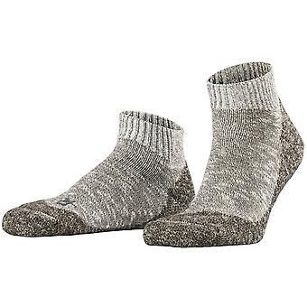 Falke Lodge Homepad Slipper Socks - Light Grey Melange