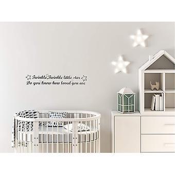 Wanddekoration für das Kinderzimmer mit liebevollem Text | 57x11 cm