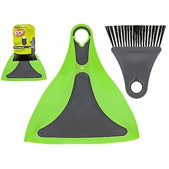Summit Pop! Flexi Dustpan et Lime brosse