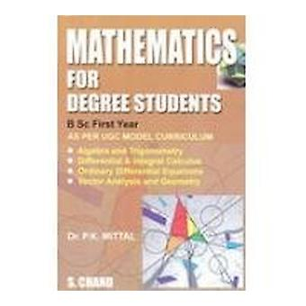 Mathematics for Degree Students - B.Sc 1st Year by P.K. Mittal - 97881