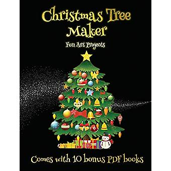 Fun Art Projects (Christmas Tree Maker) - This book can be used to mak