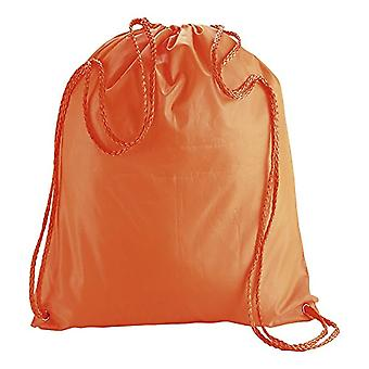 Ebuygb pack of 10 children in nylon with coulisse backpacks - adult unisex - 1206610-10 - Orange - One size fits all