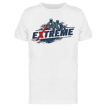 Extreme Go Karts Tee Men's -Kuva Shutterstock
