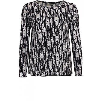 Masai Clothing Delly Patterned A Shape Top