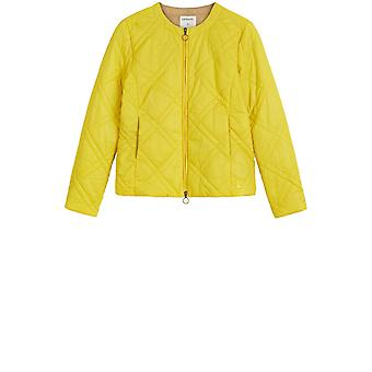 Sandwich Clothing Vibrant Yellow Quilted Jacket