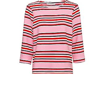 Bianca Pink & Red Striped Top