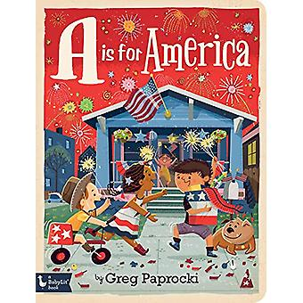 A Is for America by Greg Paprocki - 9781423652670 Book
