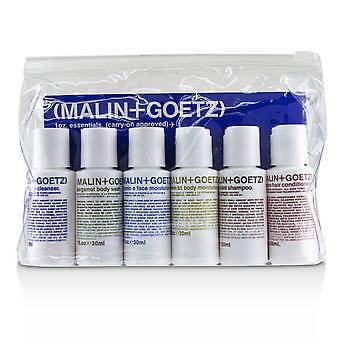 1oz. essentials kit: graprfuit cleanser+face moisturizer+body wash+body moisturizer+shampoo+conditioner 226802 6pcs