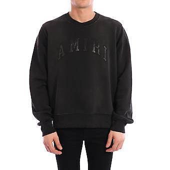 Amiri Y0m02359tewbk Men's Black Cotton Sweatshirt