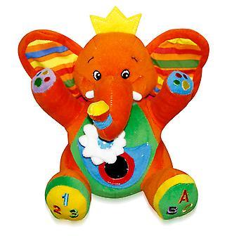 Lorelli Baby Pehmo lelu Elephant Bag 21cm Muhkea peili tärinä