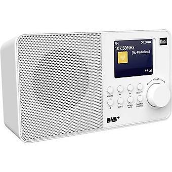 Dual DAB 18 C Draagbare radio DAB+, FM Wit