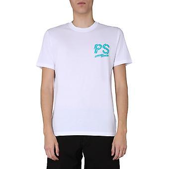 Ps Door Paul Smith M2r011rap180901 Men's White Cotton T-shirt
