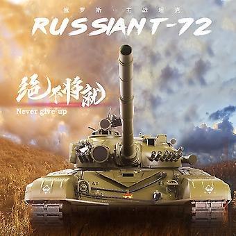 Heng Long RC Tank russisk T- 72 Røg & Sound Pro Model Metal Gearkasse, 1:16