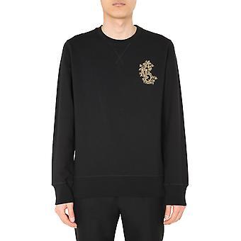 Alexander Mcqueen 605891qox431000 Männer's schwarze Baumwolle Sweatshirt