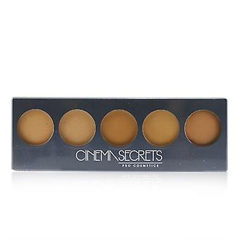 Cinema Secrets Ultimate Foundation 5 In 1 Pro Palette - # 500B Series (Medium To Deep Pink Beige Undertones) 14.7g/0.44oz