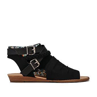 Women's Blowfish Malibu Besa Ankle Sandals in Black