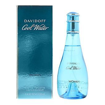 Davidoff Cool Water Woman Eau de Toilette 100ml Spray For Her