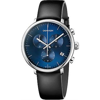 Calvin Klein K8Q371CN Chronograph Quartz Blue Dial Men's Watch