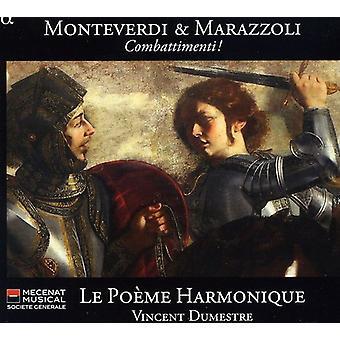 G. Monteverdi - Monteverdi & Marazzoli: Combattimenti! [CD] USA import