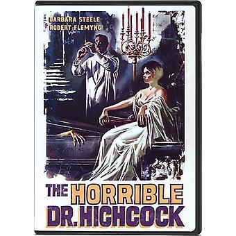 Horrible Dr Hichcock [DVD] USA importeren