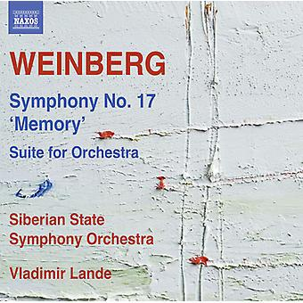 Weinberg / Siberian State Symphony Orchestra - Weinberg: Symphony No 17 Memory [CD] USA import