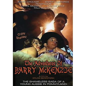 Adventures of Barry McKenzie [DVD] USA import