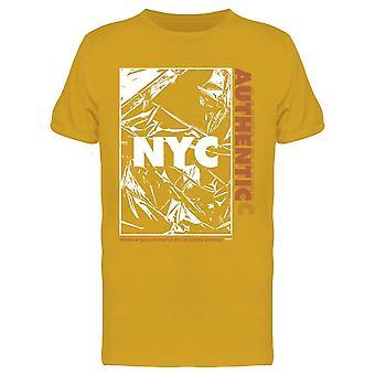 Abstrack N Y C Design Tee Men's -Imagen por Shutterstock