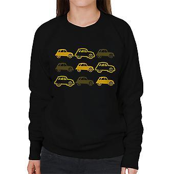 Citro n Vintage 2CV Patroon Dames's Sweatshirt