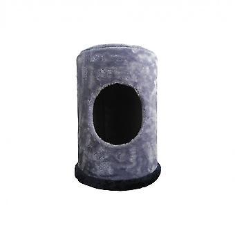 Luckypet Tire Cuccia de l'intérieur Cat Dog Grey Blue Plush 40x30x30